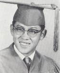 1963 photo of Menaul School Graduate Francis Chang