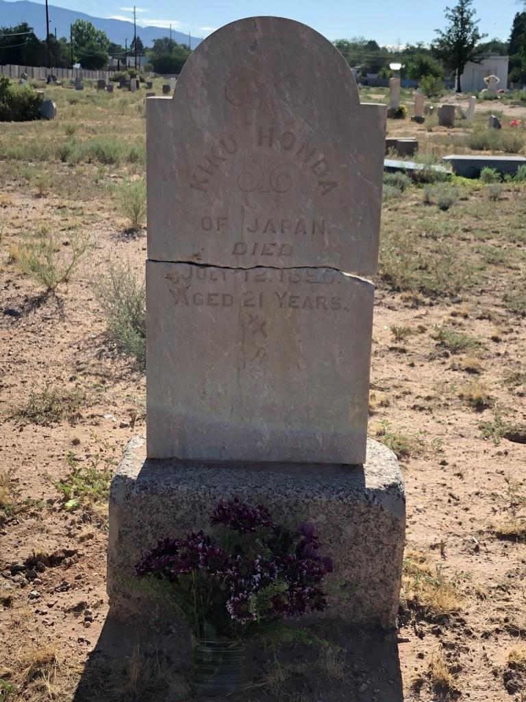 Photo of Kiku Honda headstone