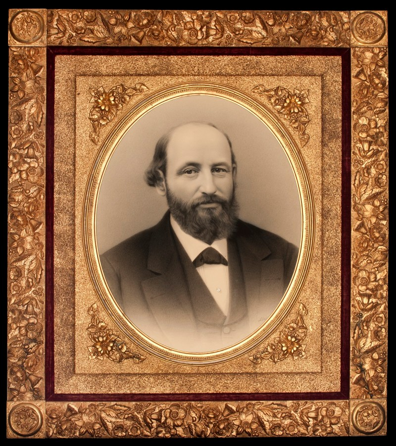 Portrait of Juan José Baca
