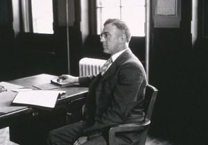 Photo of Zimmerman at desk