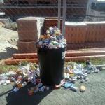 basura acumulada