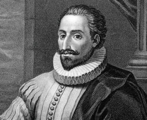 Miguel de Cervantes Saavedra nace el 29 de septiembre en 1547 en Alcalá de Henares, una pequeña ciudad universitaria cerca de Madrid. Su padre era un pobre hidalgo que practicaba la cirugía.
