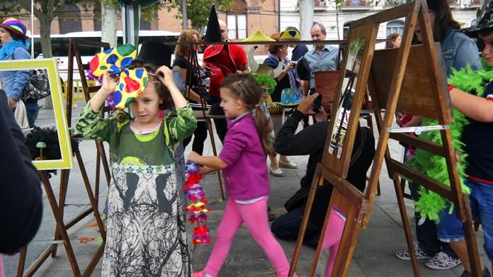 Actividades para niños en la Plaza de Cervantes