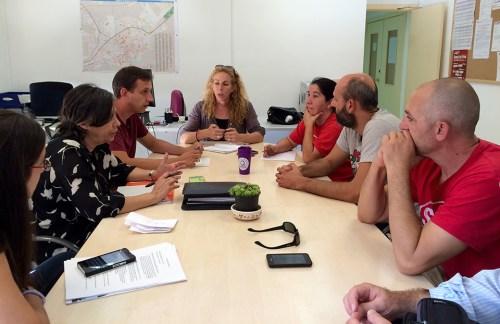 Reunión PAH -Ayuntamiento