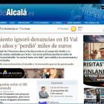 Caso Vallas en Diario de Alcalá