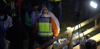 """El cadáver de """"Richi"""" recuperado por efectivos del Cuerpo Nacional de Policía"""