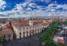 Mercado Cervantino: Panorámica del Centro Histórico de Alcalá