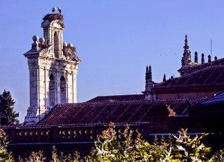 Espadaña de la capilla universitaria de San Ildefonso