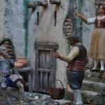 Don Quijote y Sancho en el Belén Complutense