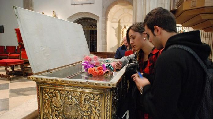 El cuerpo incorrupto de San Diego en Alcalá