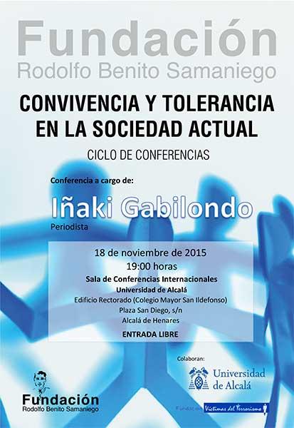 Conferencia de Iñaki Gabilondo