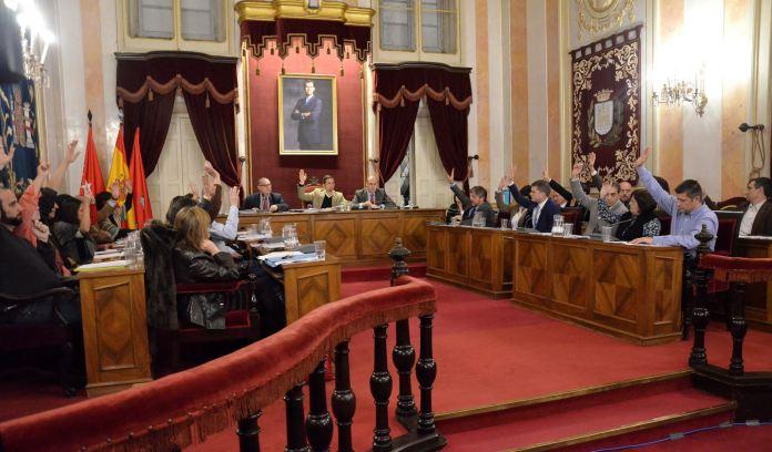 Último Pleno Municipal del año 2015 en Alcalá de Henares