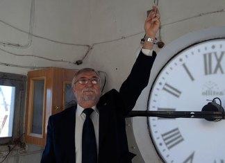 En las entrañas del reloj de Ayuntamiento
