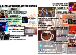 Agenda Musical Alcalá de Henares