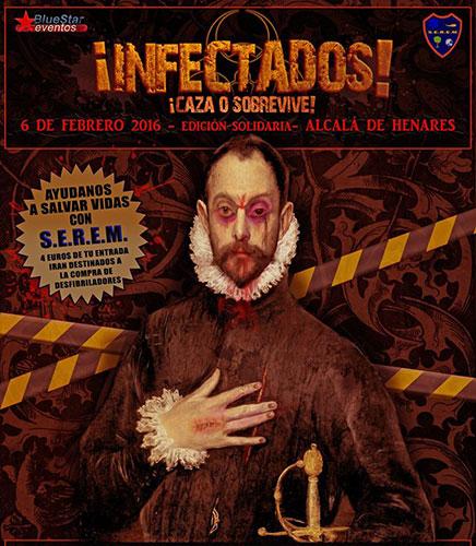 ¡ Infectados ! en Alcalá de Henares