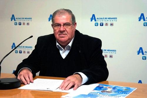 Carlos García Nieto, concejal de Mayores de Alcalá de Henares