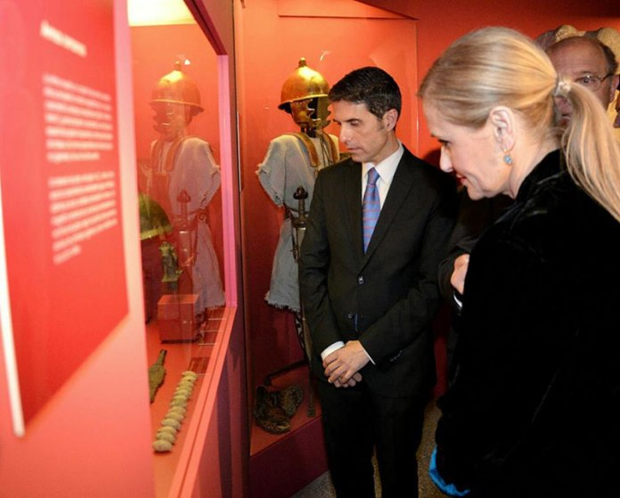 """Inauguración de la exposición """"Los Escipiones"""" en el Museo Arqueológico Regional"""