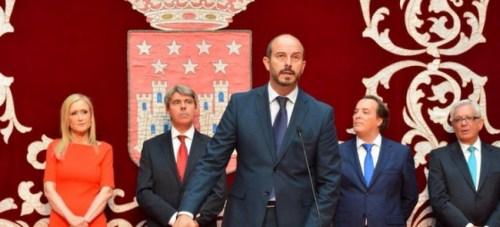 Pedro Rollán, Consejero de Transportes