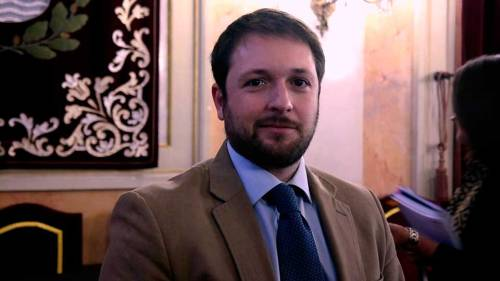 Victor Chacón, portavoz del PP en Alcalá de Henares