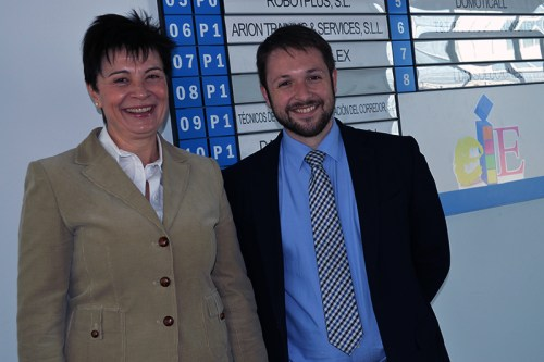 Emma Castelló y Víctor Chacón, concejala y portavoz del Grupo Popular
