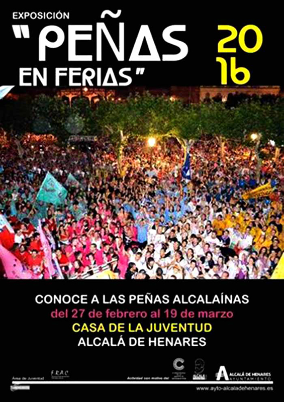 """Exposición   """"Peñas en Ferias"""" en la Casa de la Juventud"""