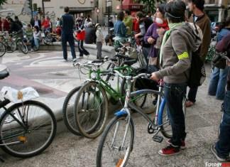 Bicicrítica en Alcalá de Henares
