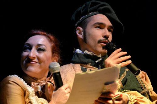 Esperanza y Rodrigo durante los Carnavales 2016