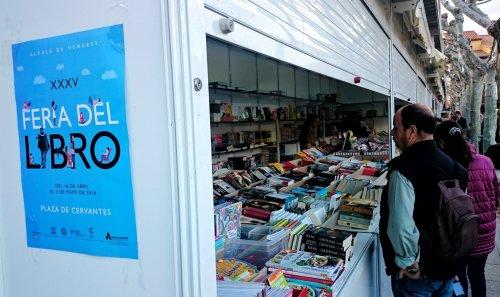 XXXV Edición de la Feria del Libro de Alcalá de Henares