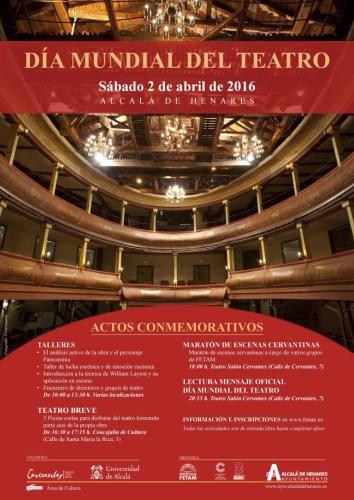 Dia Mundial del Teatro en Alcalá de Henares