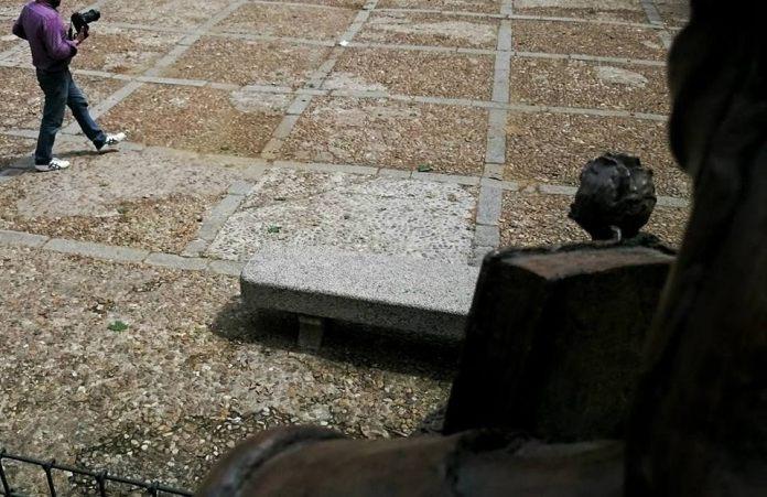 Quejas por el estado de la Plaza de las Bernardas