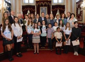 Premios del Certamen Infantil y Juvenil Cervantes 2016