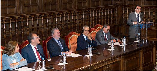 La Universidad de Alcalá alberga hoy una sesión de trabajo organizada conjuntamente por la Conférence des Présidents d'Universités de Marroc (CPU-Maroc) y Crue Universidades Españolas. Foto de la Universidad de Alcalá.