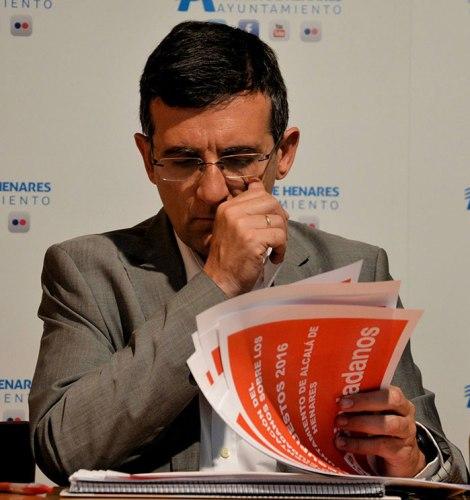 David Valle, concejal del grupo municipal de Ciudadanos, responsable de asuntos económicos