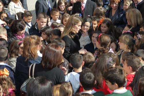 """S.A.R. la Princesa de Asturias en el acto d e entrega de la XVI Edición del Premio de Literatura Infantil y Juvenil """"Cervantes Chico"""""""