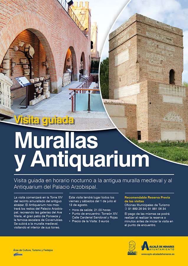 Cartel oficial de este programa municipal de visitas guiadas
