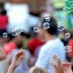 Burbujas en la Feria de Alcalá