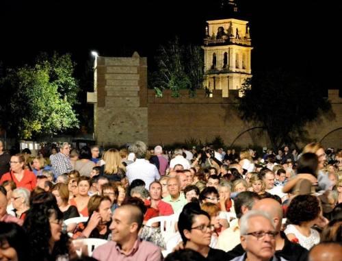 El ciclo de conciertos supone una gran oferta musical para las Ferias de Alcalá. Foto de Ricardo Espinosa Ibeas