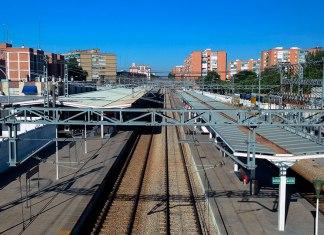 Vista ferroviaria de agosto