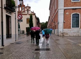 Por fin la lluvia