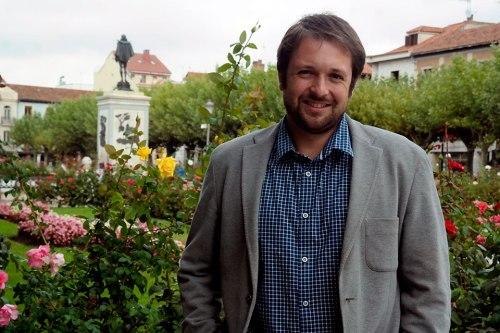 Victor Chacón, portavoz del grupo popular. Foto de Pedro Enrique Andarelli ( archivo de ALCALÁ HOY )