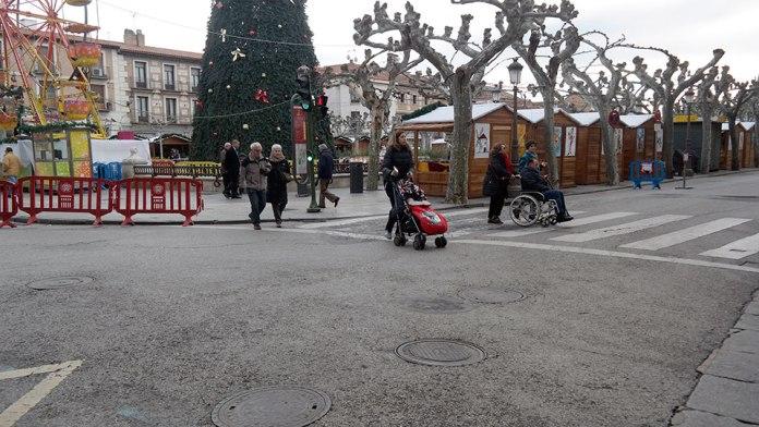 En la Plaza de Cervantes. Sábado 17 de diciembre. Foto de Pedro Enrique Andarelli