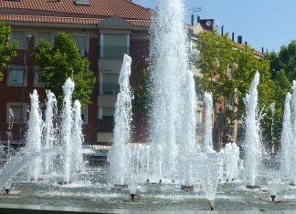 Fuente en la Plaza de la Paz