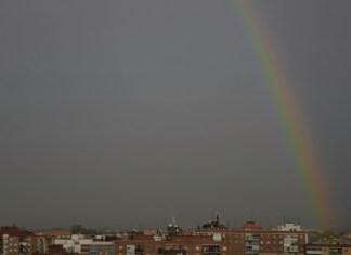 Arco Iris sobre Alcalá de Henares
