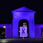 Nocturna de la Puerta de Madrid en agosto 2020
