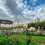 Otoño en la Plaza de Cervantes