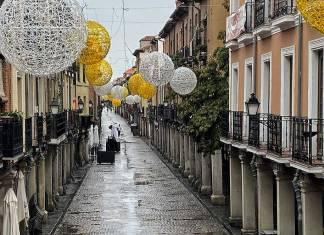 Lluvia de octubre en Alcalá de Henares