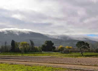 Amanecer de diciembre en el cerro El Viso