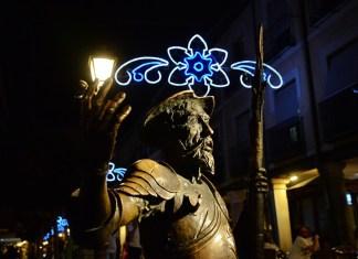 """Las luces de las """"No Fiestas de Alcalá de Henares"""""""
