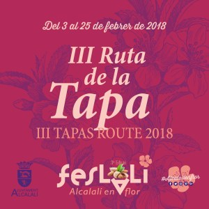 "Ruta de la Tapa - Feslalí ""Alcalalí en flor"""
