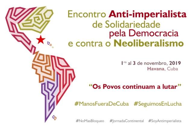 ENCUENTRO ANTI-IMPERIALISTA POR LA DEMOCRACIA CUBANA